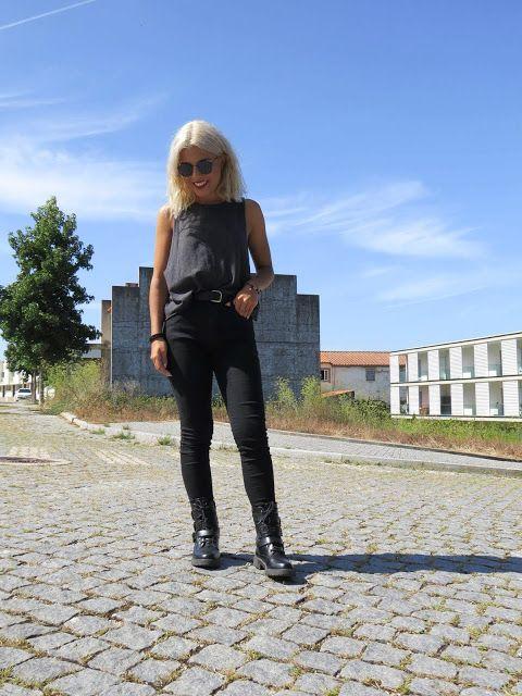 Hello Fall Outfit in I Walk in Starlight  All Black/ Summer  *Clique para acessar o blog e ver mais looks*
