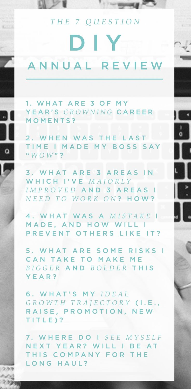 When's the last time you gave yourself a performance review? Ask these questions regularly to track your career progress.