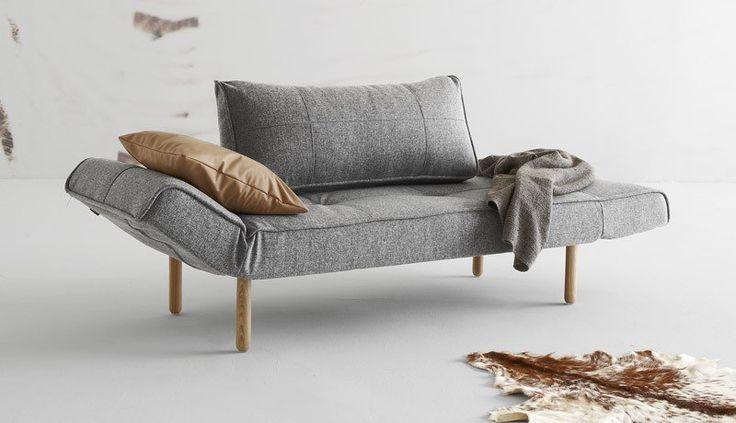 Innovation Living - Zeal Sovesofa - Grå - Gratis fragt