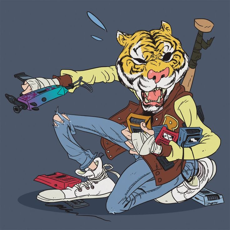 Jacket Hotline Miami (He is also a playable character in Payday 2) Source: Florida Phone Man by AngusMcLeod