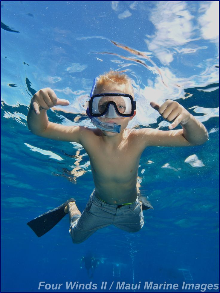 Fun for all ages ... families and kids love our snorkels!