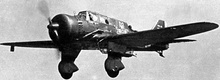 Poland's PZL P-23 Karas, bomber - World War II Vehicles - World War 2 Aircraft