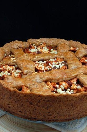 Speculaas-appel taart met spijs