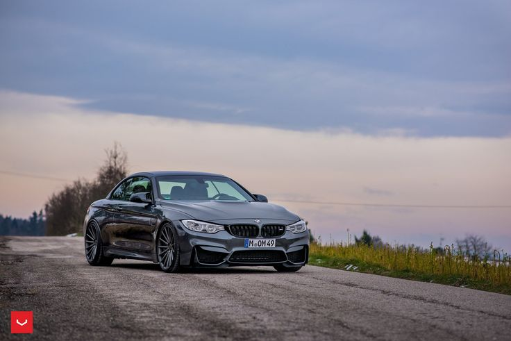 BMW M4 Convertible With Vossen Wheels - http://www.bmwblog.com/2016/03/18/bmw-m4-convertible-vossen-wheels/