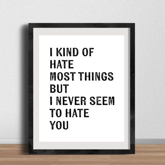 Pin for Later: Treat Yo Self With These Parks and Recreation Gifts  April Ludgate Quote Print ($10)