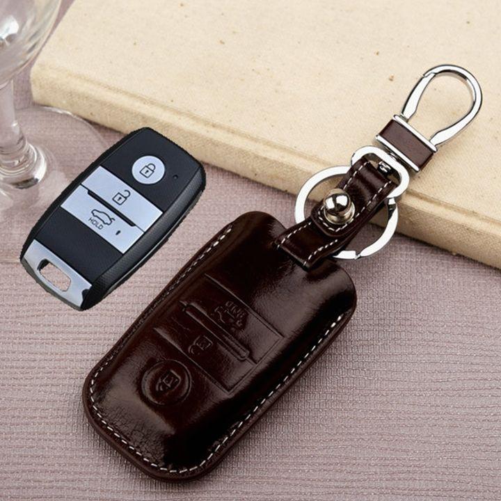 $25.00 (Buy here: https://alitems.com/g/1e8d114494ebda23ff8b16525dc3e8/?i=5&ulp=https%3A%2F%2Fwww.aliexpress.com%2Fitem%2FFree-shipping-for-KIA-k3-k3s-k4-k5-Sportage-r-Sorento-keyless-remote-smart-key-holder%2F32358266841.html ) key fob cover for KIA k3 k3s k4 k5 Sportage-r Sorento keyless remote smart key holder wallet leather key chain ring accessories for just $25.00