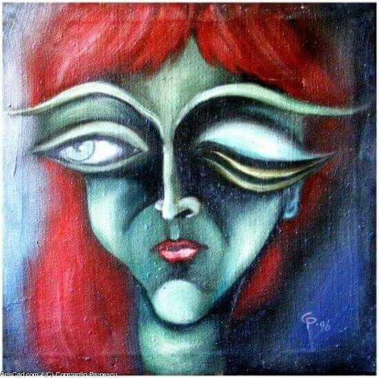 Xibehuza-art work  painting  by Constantin Paunescu