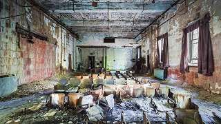 Bronxissa sijaitseva vanha sairaala on rappeutunut täysin.