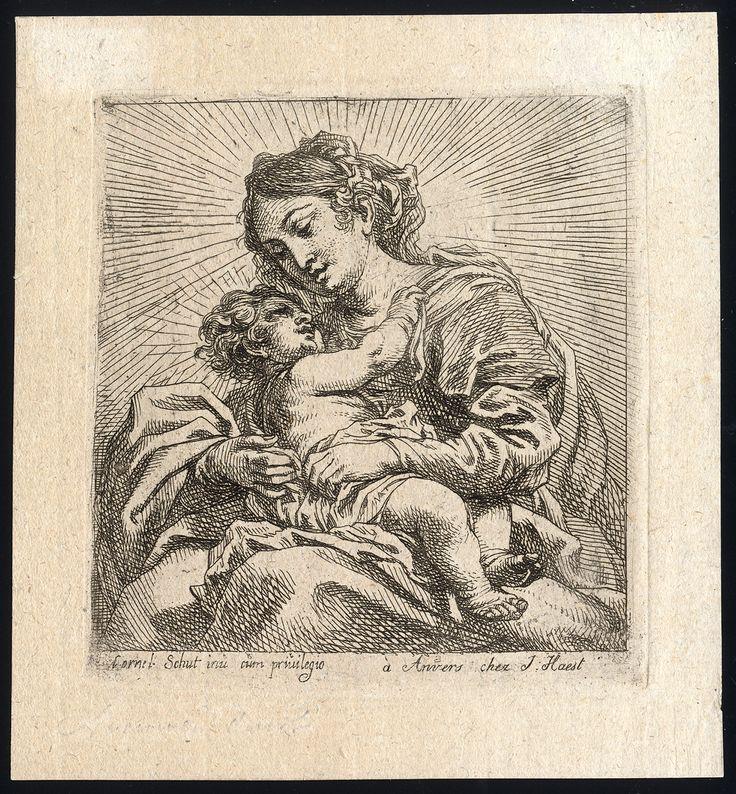 Schut, Cornelis - Madonna and Child