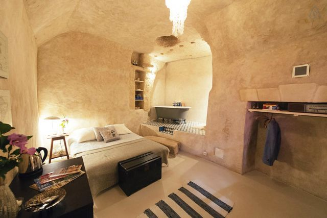 30 Airbnbs That Will Blow Your Mind (Not Your Budget) #refinery29 http://www.refinery29.com/crazy-airbnb-rentals#slide-2 Amboise Troglodyte, Nazelles-Négron, FranceCharming and rustic, this perfectly French abode — near the one-time home of Leonardo da Vinci — will transport you to another time with its cave-like structure, period furniture, and open-plan bathroom. $86/night