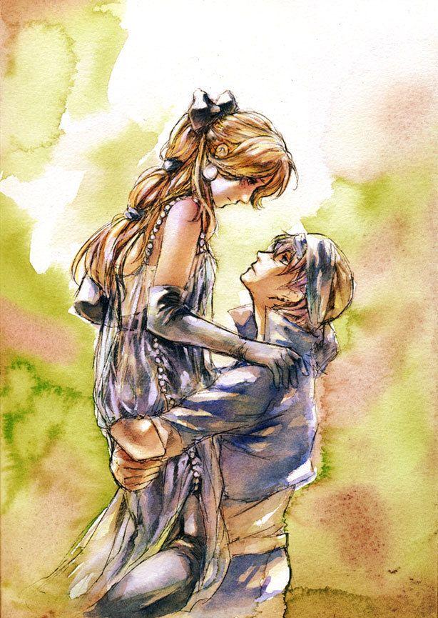 Final Fantasy VI - Celes and Locke