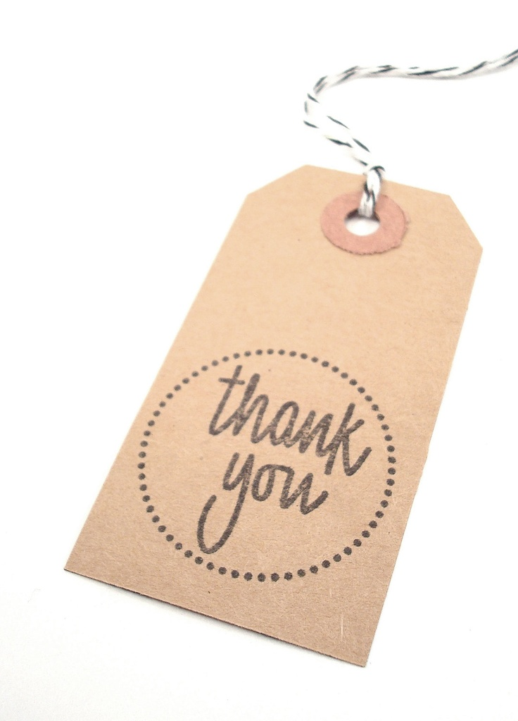 Handmade Thank You Wedding Gifts : ... Bags - Baskets - Kraft Tags Thank you gifts, Wedding and Handmade