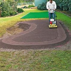 Marketing of Sports. How to make a putting green (in your own backyard). Better Homes and Garden is the one promoting how to make your own putting green. This is for golf lovers. It doesn't say how much it will cost but it will be cheaper then having it put in professionally since is a dyi project.