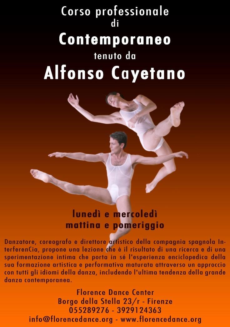 Alfonso Cayetano  Corso danza Contemporanea