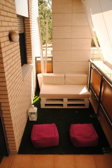 25 best terrazas images on pinterest small balconies for Terrazas para patios