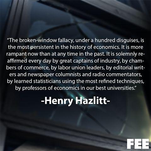 Broken window theory economics