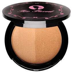 Sun Bunny Bronzer by my favorite makeup line, Too Faced Cosmetics! Its the perfect if you want that glow-y, just came back from the beach look ;)
