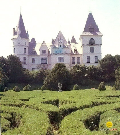 Andrássy-kastély Tiszadob, Hungary