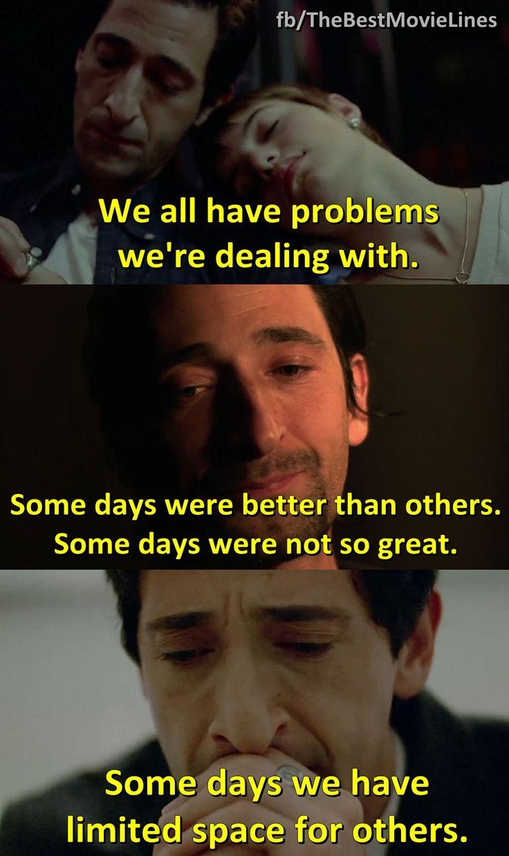 - Adrien Brody in Detachment (2011)