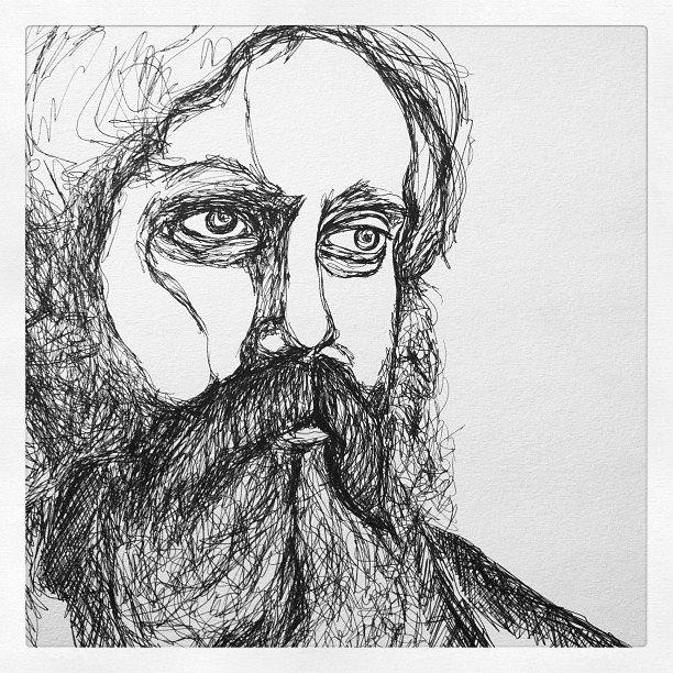 Line Drawing Portrait : Best continuous contour line portraits images on