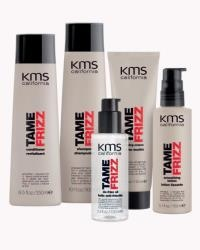KMS California presents TAMEFRIZZ collection. I have only tried the shampoo and conditioner. I love the way my hair smells after I wash it.