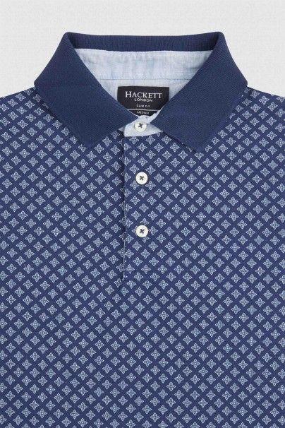Hackett Printed Polo Shirt - Polo Shirts - Shop By Product - Men | Hackett