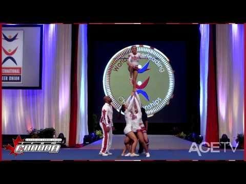 TEAM CANADA 2013 ALL-GIRL PARTNER STUNT