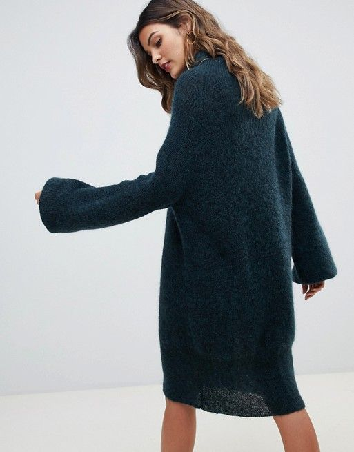 0c9ca46fb6d Whistles mohair funnel neck sweater dress