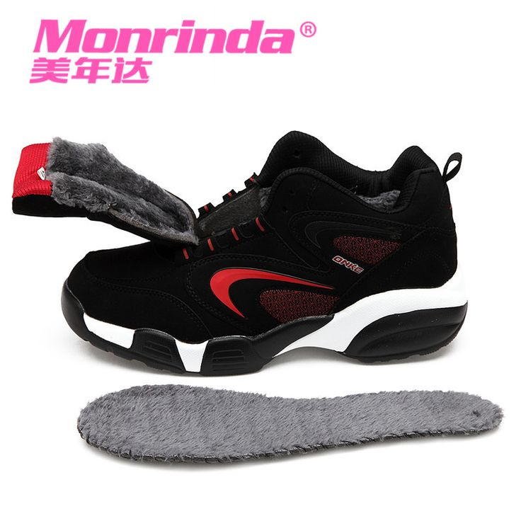 Monrinda Winter Shoe Womens Running Shoes Snow Shoe Sport Shoes for Men Outdoor Leisure Sneakers Hot Sale Zapatillas Mujer