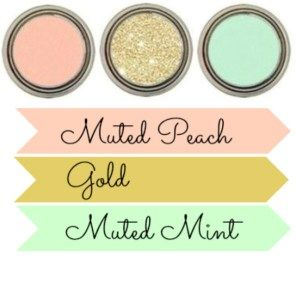 Mint, Pink & Gold Baby Shower + Printables