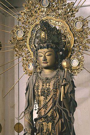 興福寺収蔵 木造聖観音菩薩立像 #buddhism #buddha