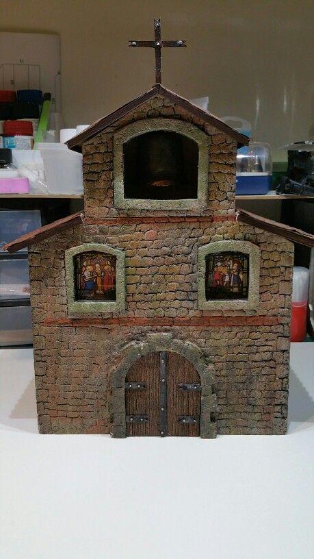 Et voilà l église du village