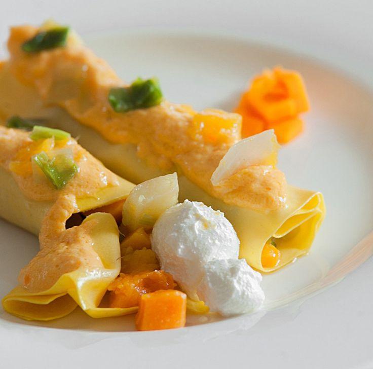 Cannelloni zucca e ricotta ricetta