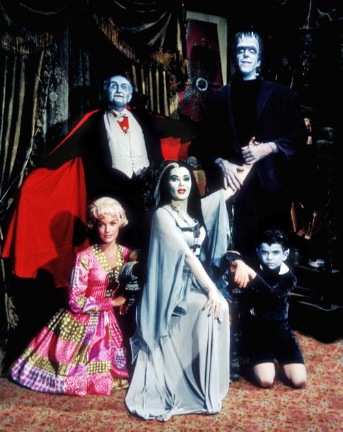 The Munsters. First year w/ the original Marilyn (my favorite)
