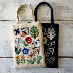 embroidery on top of your Sprout Patterns everyday tote would be so fun!