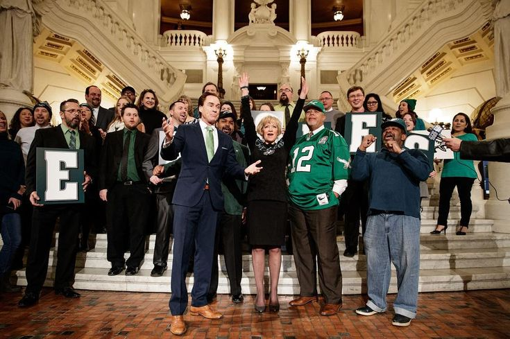 The @pasenatedems led @philadelphiaeagles fans in a rendition of #FlyEaglesFly in the PA Capitol rotunda.  One more game! - - #harrisburg #hbg #hburg #democrat #democrats #pasenate #pasenatedems #dems #padems #pademocrats #philly #philadelphia #pittsburgh #pahouse #pa #penna #penn #pennsylvania #politics #papolitics #government #architecture #architecturephotography #architecturelover #philadelphiaeagles #eagles #football #superbowl52 #superbowl