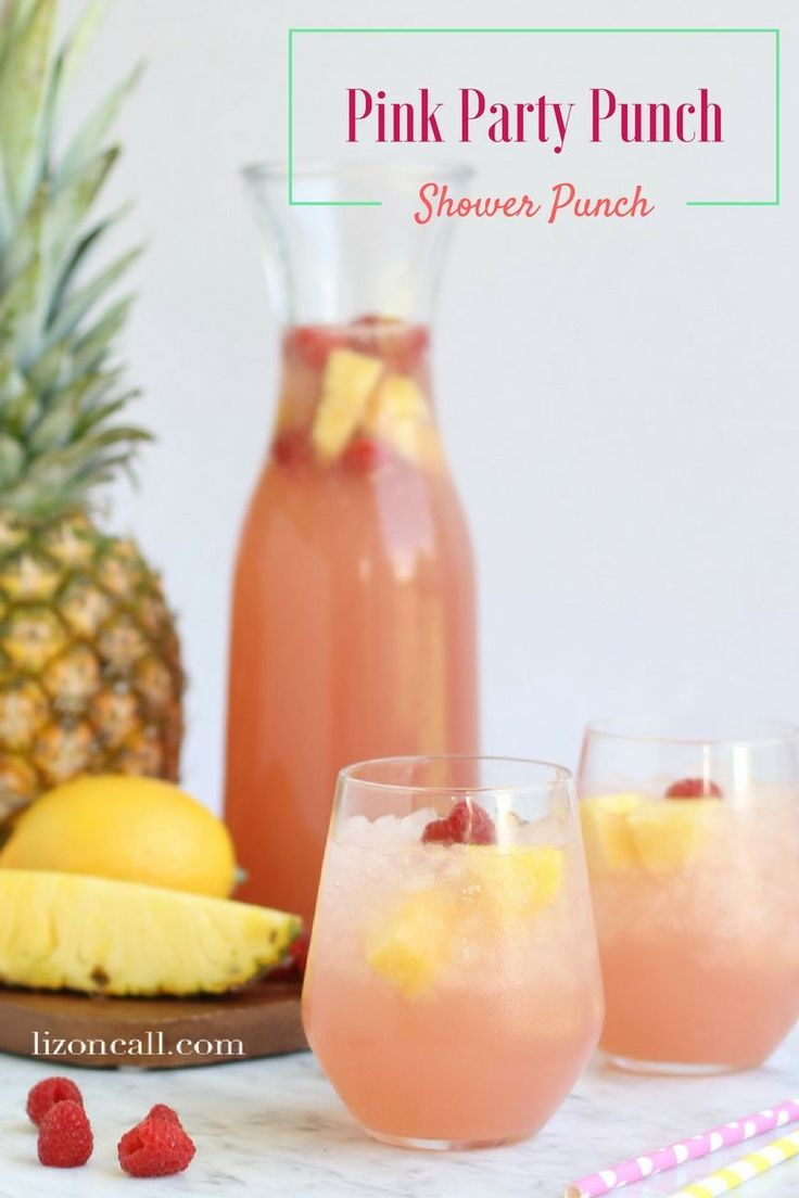 With only 4 ingredients this pink party punch recipe is so easy and is perfect for brunches, showers or really any occasion. This Easy party punch recipe can be made in 10 minutes.