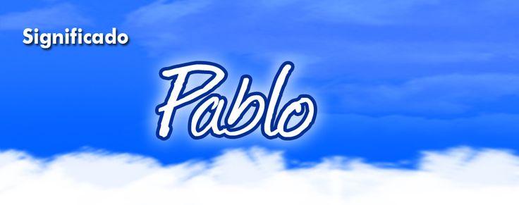 Pablo, Significado del nombre