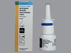 ipratropium bromide 0.06 % nasal spray