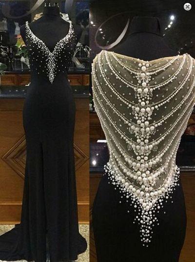 Mermaid Black Prom Dress,Long Prom Dresses,Charming Prom Dresses,Evening Dress,Prom Gowns,Formal Women Dress,prom dress