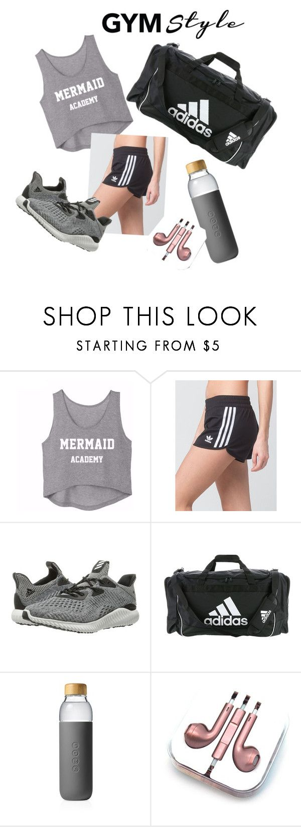 """""""Untitled #261"""" by abbeycakes ❤ liked on Polyvore featuring adidas, Soma and PhunkeeTree"""