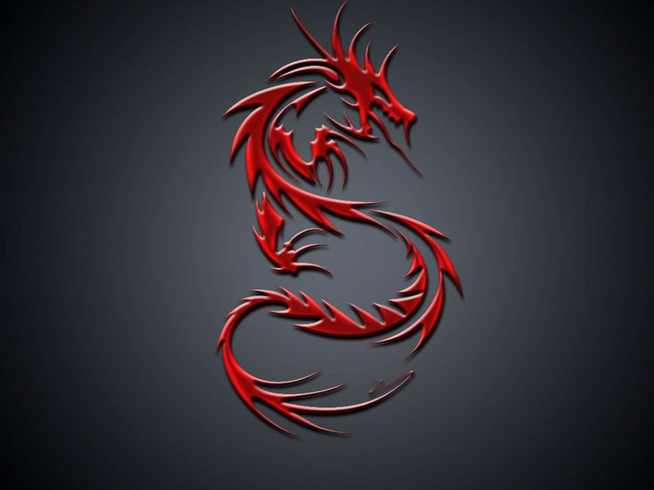 dragon wallpaper  ( Not MSI )