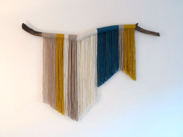 5 colgantes de lana