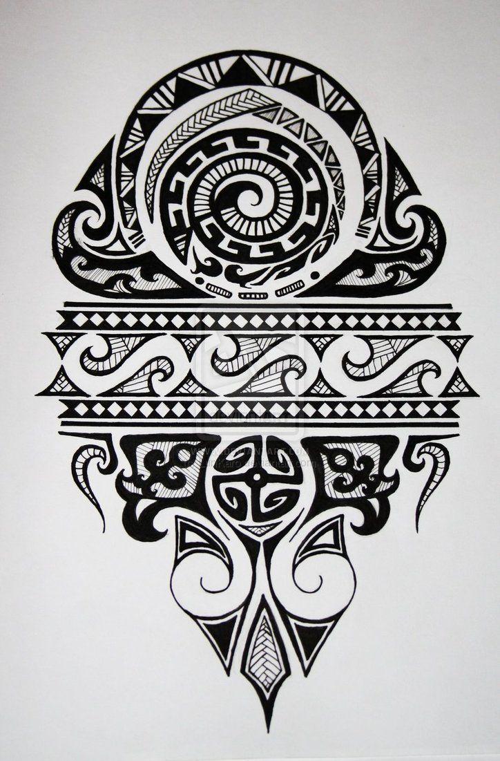 Maori by ~LunKaro on deviantART #polynesian #tattoo
