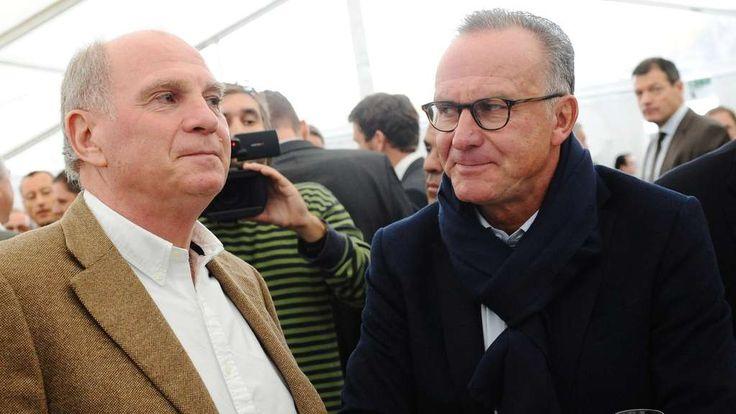 Uli Hoeneß (l.) und Karl-Heinz Rummenigge.