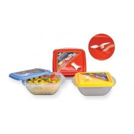 Ruchi Seal Fresh 60 Set Of 3 Pcs Food Grade With Stand Temperatures From To Microwave Dishwasher Refrigerator Safe Oil And Fat Free