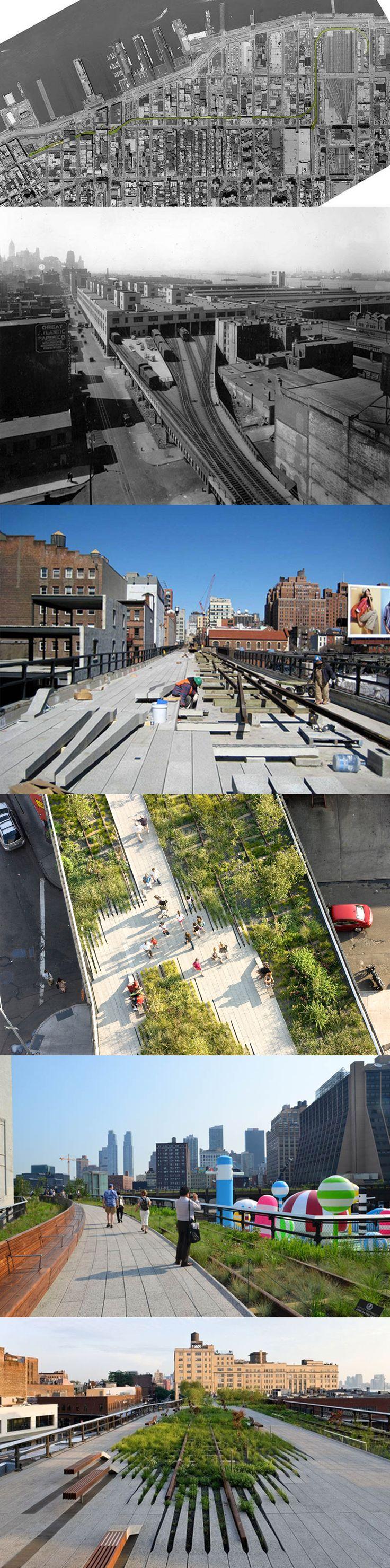 New York_The High Line #TheHighLine #NewYork #ParkinTheSky  #Parco #Architetto #stella #fazio