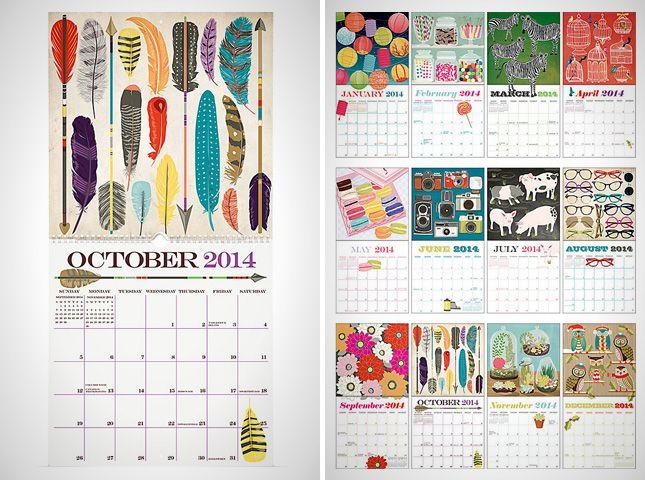 Calendar Concept Ideas : Best calendar ideas images on pinterest
