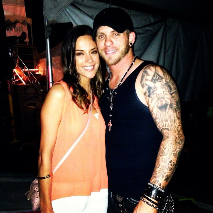 BG and ex fiancé Jana Kramer