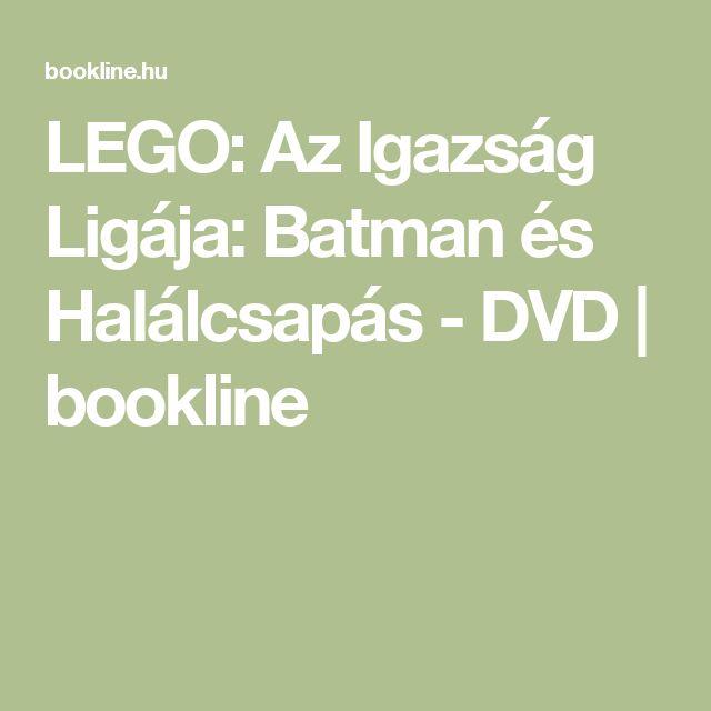 LEGO: Az Igazság Ligája: Batman és Halálcsapás - DVD | bookline